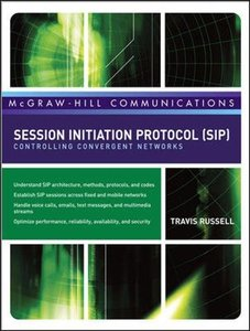 Session Initiation Protocol (SIP): Controlling Convergent Networks (Hardcover)-cover