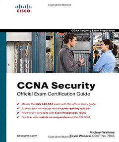 CCNA Security Official Exam Certification Guide  (Exam 640-553)-cover