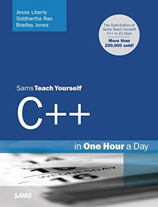 Sams Teach Yourself C++ in One Hour a Day, 6/e (Paperback)-cover