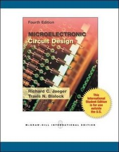 Microelectronic Circuit Design, 4/e (IE-Paperback)-cover
