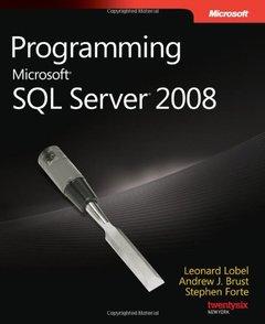 Programming Microsoft SQL Server 2008 (Paperback)-cover