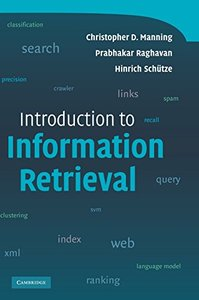 Introduction to Information Retrieval (Hardcover)-cover