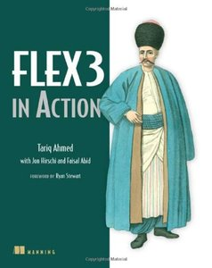 Flex 3 in Action (Paperback)-cover