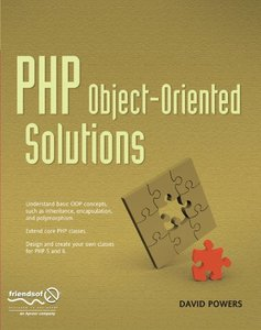 PHP Object-Oriented Solutions-cover