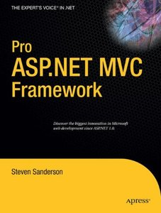 Pro ASP.NET MVC Framework (Paperback)-cover