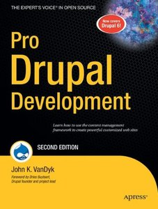 Pro Drupal Development, 2/e (Paperback)-cover