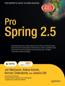 Pro Spring 2.5 (Paperback)-cover