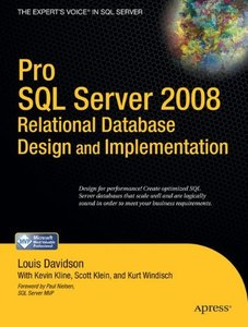 Pro SQL Server 2008 Relational Database Design and Implementation (Paperback)-cover