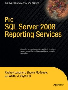 Pro SQL Server 2008 Reporting Services (Paperback)-cover