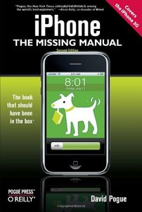 iPhone: The Missing Manual: Covers the iPhone 3G, 2/e (Paperback)-cover
