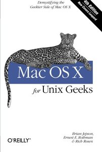 Mac OS X for Unix Geeks, 4/e (Paperback)-cover