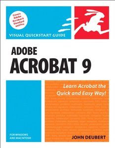 Adobe Acrobat 9 for Windows and Macintosh: Visual QuickStart Guide (Paperback)-cover
