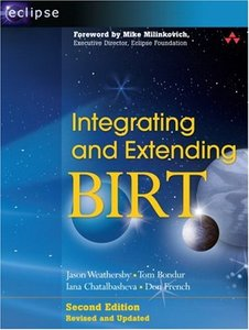 Integrating and Extending BIRT, 2/e-cover