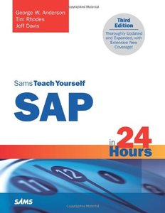 Sams Teach Yourself SAP in 24 Hours, 3/e-cover
