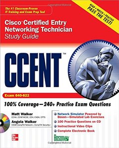 CCENT Cisco Certified Entry Networking Technician Study Guide (Exam 640-822)-cover