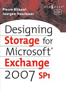 Designing Storage for Exchange 2007 SP1-cover