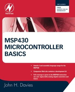 MSP430 Microcontroller Basics (Paperback)-cover