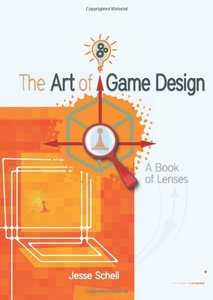 The Art of Game Design: A book of lenses (Paperback)-cover