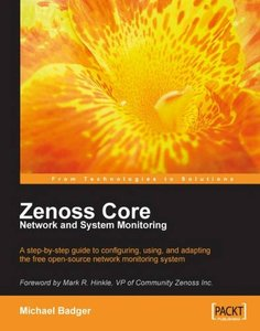 Zenoss Core Network and System Monitoring-cover
