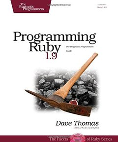 Programming Ruby: The Pragmatic Programmers' Guide, 3/e (Paperback)-cover