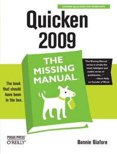 Quicken 2009 : The Missing Manual (Paperback)-cover