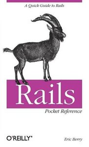 Rails Pocket Reference (Paperback)-cover