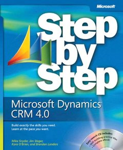 Microsoft Dynamics CRM 4.0 and Microsoft Dynamics Live CRM Step by Step-cover
