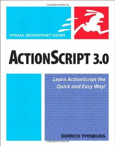 ActionScript 3.0: Visual QuickStart Guide (Paperback)-cover