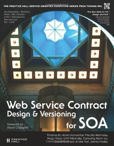 Web Service Contract Design and Versioning for SOA-cover