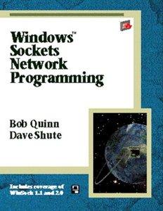 Windows Sockets Network Programming (paperback)-cover