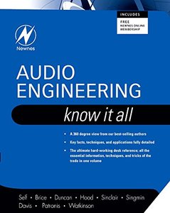 Audio Engineering: Know It All, Volume 1 (Paperback)-cover