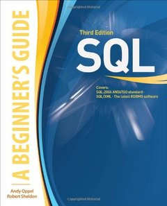 SQL: A BEGINNER'S GUIDE, 3/e-cover