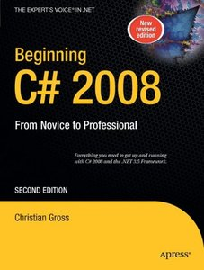 Beginning C# 2008: From Novice to Professional, 2/e (Paperback)-cover