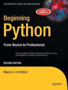 Beginning Python: From Novice to Professional, 2/e-cover