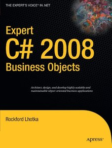 Expert C# 2008 Business Objects (Paperback)-cover