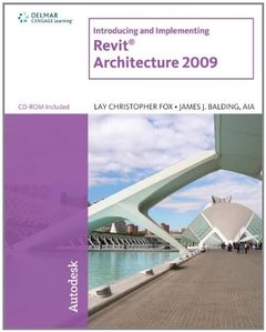 Introducing and Implementing Revit  Architecture 2009 (Paperback)-cover
