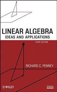 Linear Algebra: Ideas and Applications, 3/e (Hardcover)-cover