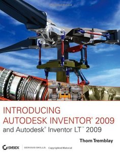 Introducing Autodesk Inventor 2009 and Autodesk Inventor LT 2009 (Paperback)-cover