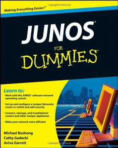 JUNOS For Dummies-cover