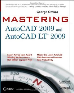 Mastering AutoCAD 2009 and AutoCAD LT 2009 (Paperback)-cover