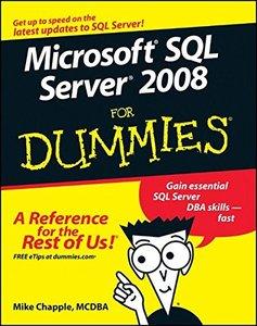 Microsoft SQL Server 2008 For Dummies (Paperback)-cover