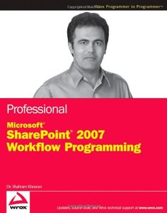 Professional Microsoft SharePoint 2007 Workflow Programming-cover
