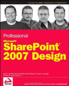Professional SharePoint 2007 Design (Paperback)-cover