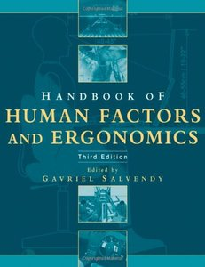Handbook of Human Factors and Ergonomics, 3/e-cover