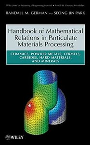 Handbook of Mathematical Relations in Particulate Materials Processing-cover