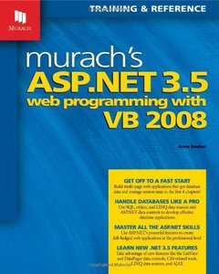 Murach's ASP.NET 3.5 Web Programming with VB 2008-cover