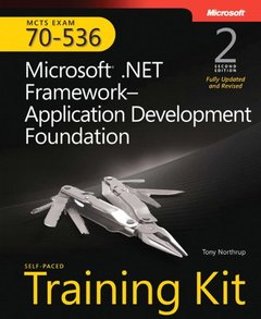 MCTS Self-Paced Training Kit (Exam 70-536): Microsoft .NET Framework Application Development Foundation, 2/e-cover