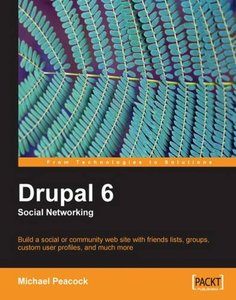 Drupal 6 Social Networking (Paperback)-cover