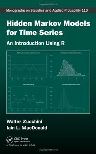 Hidden Markov Models for Time Series: An Introduction Using R (Hardcover)-cover