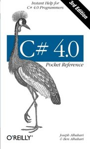 C# 4.0 Pocket Reference, 3/e (Paperback)-cover